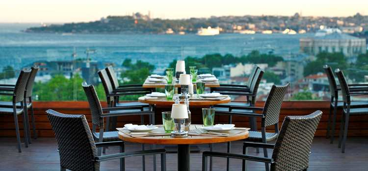 Meze Restaurant Tables, CONRAD ISTANBUL: HOTEL REVIEW