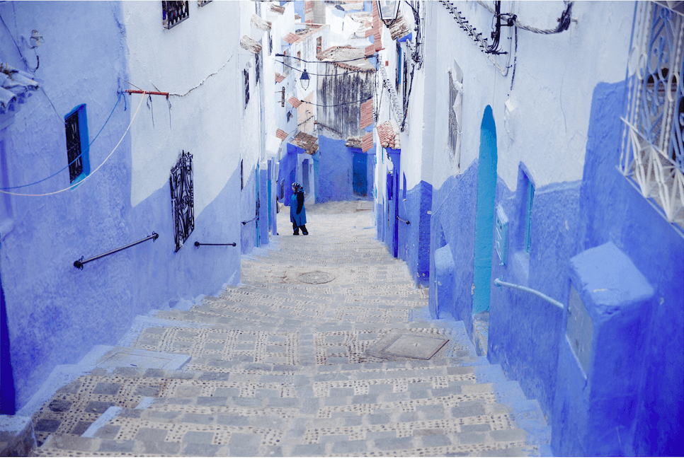 Chefchaouen, Morroco, Blue City Morocco