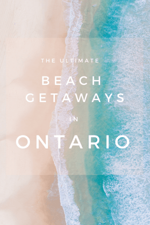 Summer vacations are so much better at these white sand beaches in Ontario. Including our favourite blue flag beaches in Southwest Ontario like Grand Bend, Port Stanley and Cantara Beach. #Canada #Ontario