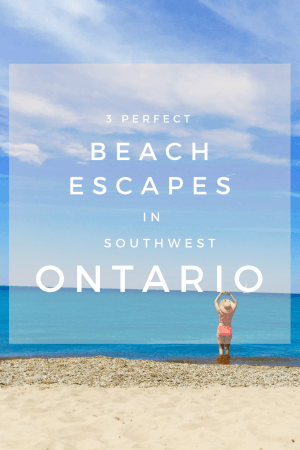 No summer is complete without a trip to these Blue flag beaches in Ontario. Our favourite include Grand Bend, Port Stanley and Canatara Beach which one of our favorite white sand beach in Ontario. #Ontario #Canada #Grandbend #portStanley #Ontario
