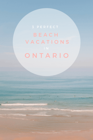 Looking for the prefect white sand beaches in Ontario? We have you covered with these Blue Flag gems in Southwest Ontario. #Canada #Ontario #Summer