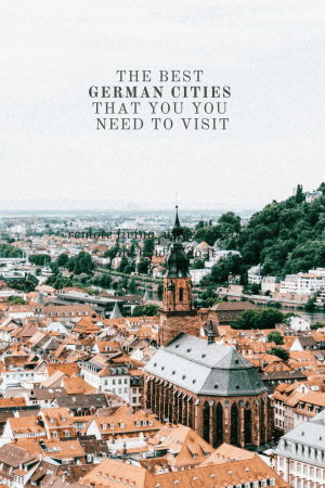 Heading to Germany and not sure what to add to your itinerary? Here are the 5 best cities in Germany that you need to visit. #Germany #Berlin #Europe
