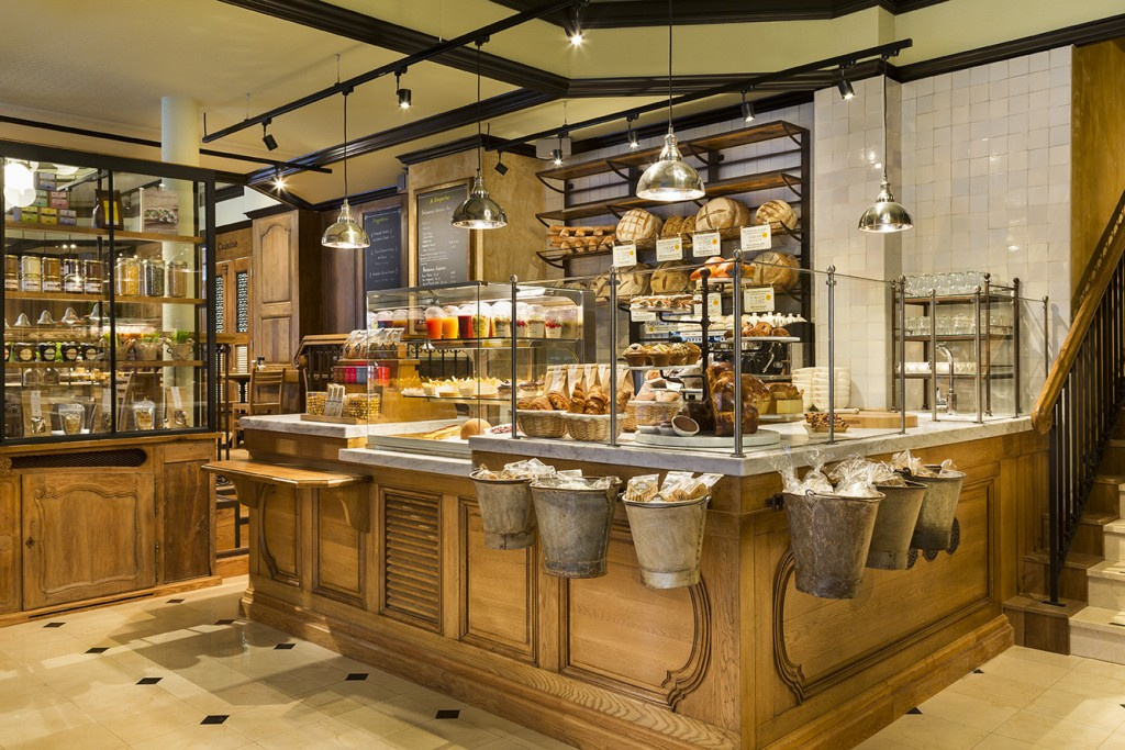 Le Pain Quotidien attached to Hilton Opera Paris