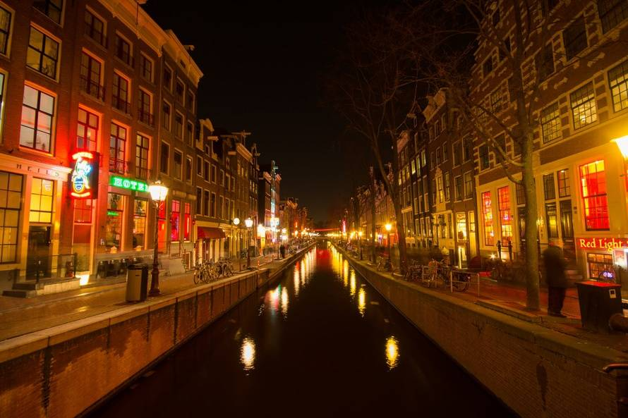 One of the best things to do in Amsterdam is to check out the red light district.