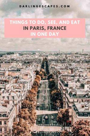 How to See Paris, France in 1 Day (24 Hours) - a Complete Guide to Paris France. The best things that you must do: Free things to do in Paris and Cheap Places to eat in Paris #travel #paris #france