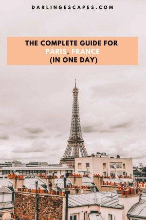 Looking to see Paris in one day or a 2 day Paris itinerary? We have you covered either way. Here are things to do, see and eat while in Paris France.