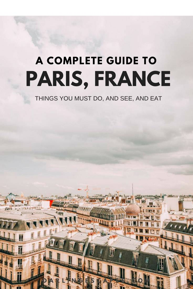 Paris in 24 Hours: Layover Edition