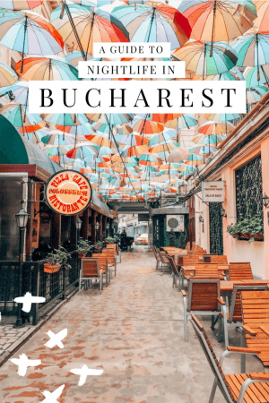 Having explored a lot of nightlife destinations, we have to say that the Bucharest nightlife is one of the best in Eastern Europe. Check our our insider guide to where to stay, what to do, and what to wear for a night out in Old town Bucharest, and where you'll find some of the best bars in Bucharest. #Romania #Nightlife #Bucharest