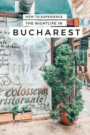 The ultimate guide to Bucharest Nightlife from an insider. The guide covers where to go, what to do, and what to wear to get the full Bucharest nightlife experience. #Bucharest #Romania #nightlife @Oldtown