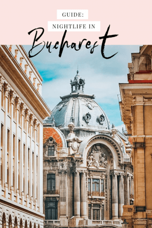 The Bucharest nightlife in the old town is something that you need to experience at least once in your life. This guide shows you where to stay, what to wear, and which bars to check out. #Bucharest #Romania #Oldtown #nightlife