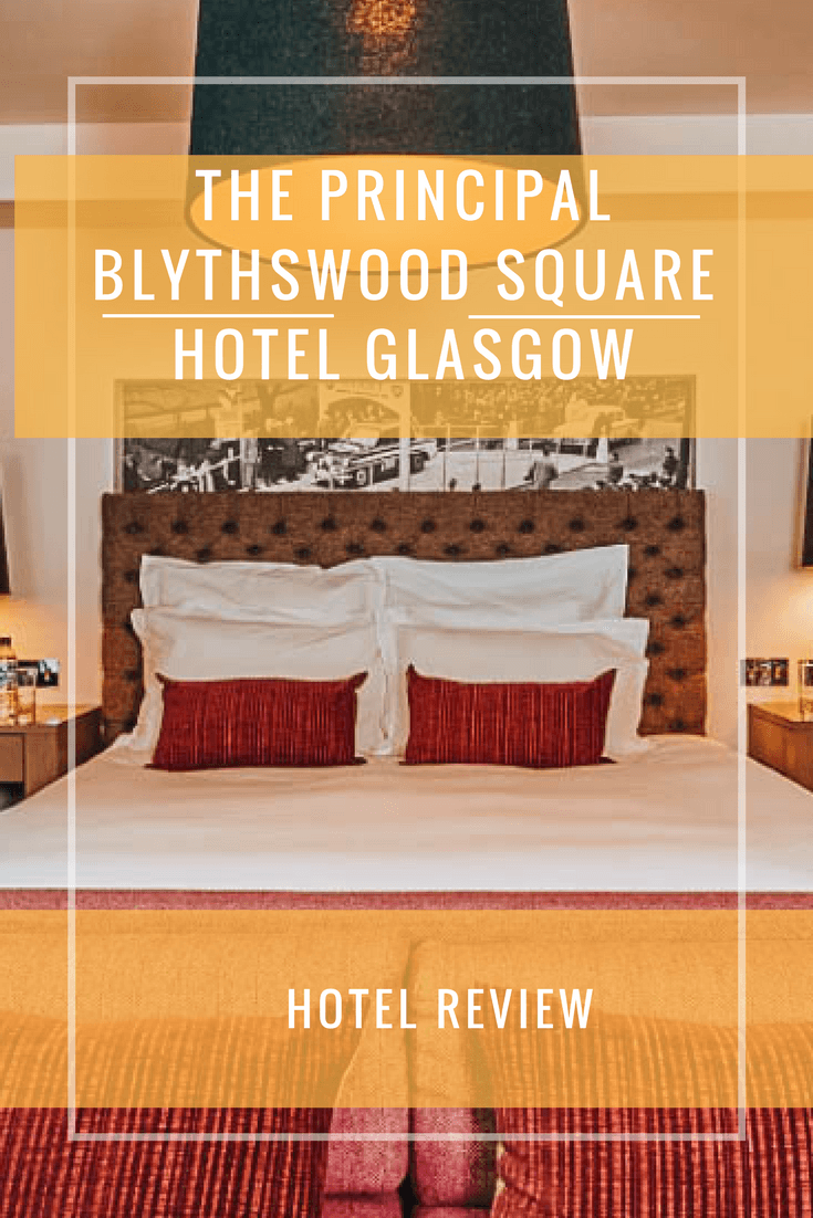The Principal Blythswood Square Hotel Glasgow. The perfect place to stay for a weekend in Glasgow.