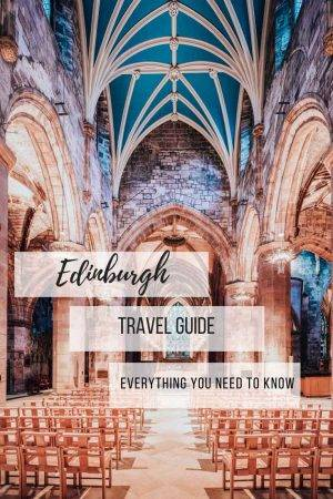 An Edinburgh itinerary guide for food lovers out there with additional tips on where to stay, where to shop, and what to see. #Edinburgh, #scotland