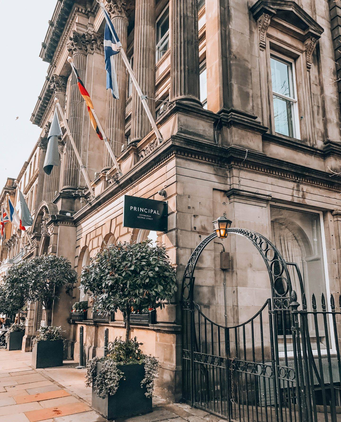 Weekend in Edinburgh. What to do, see and eat in Edinburgh. The Principle George Street