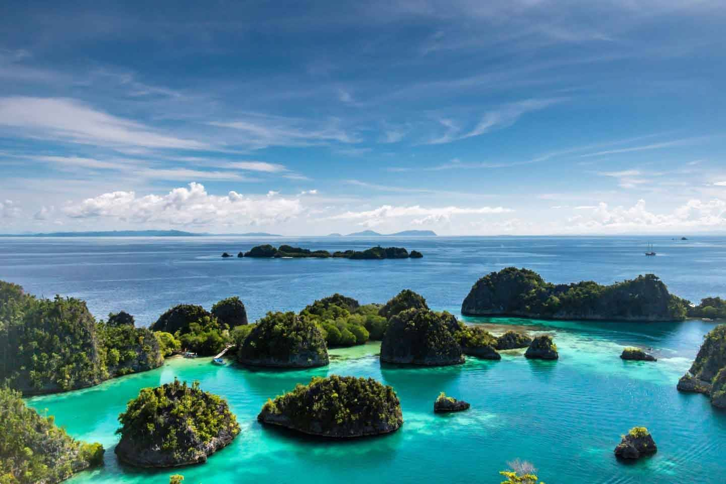 Raja Ampat is one of the best places to visit in Indonesia besides Bali, and has some of the best beaches in Indonesia.