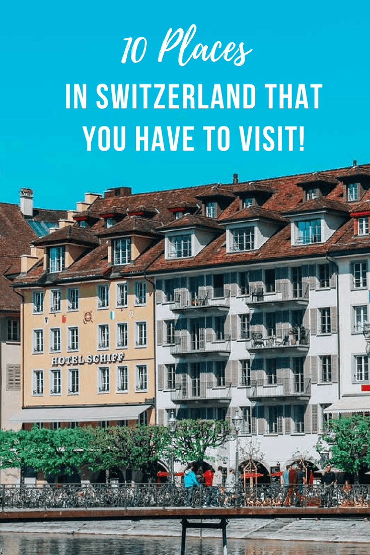 Set right on the water, with some of the best views, it's no wonder that Lucerne is one of the most beautiful places in Switzerland, and one that deserves to be visited way more often. This guide shares of the best places to visit in Switzerland including place to see, things to do, places to eat. It also includes Lucerne, Zurich, Bern among others for both summer and winter travel. #Basel #Switzerland #Summer