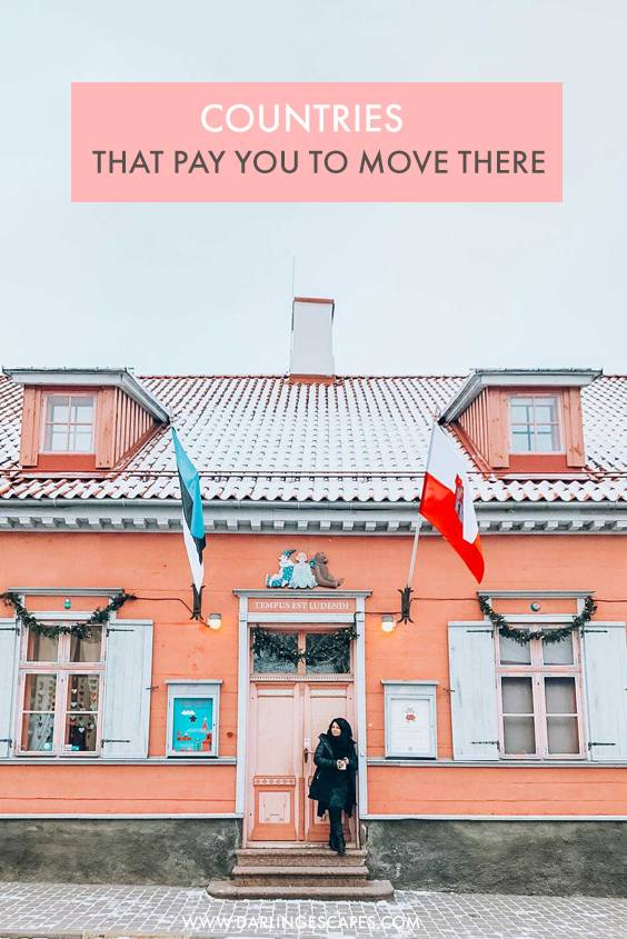 Want to get paid to move, and explore a new place? These 10 places do just that- pay you to move over!. #travel