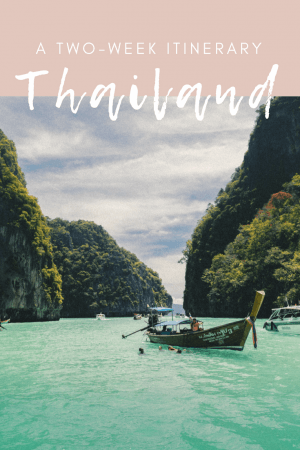 Planning a two week itinerary for Thailand, and sharing all of our favorite places to visit, including a few hidden gems. This Thailand travel itinerary is meant for those who want to see the most of the country in 2 weeks. #Thailand #Bangkok #hiddengems