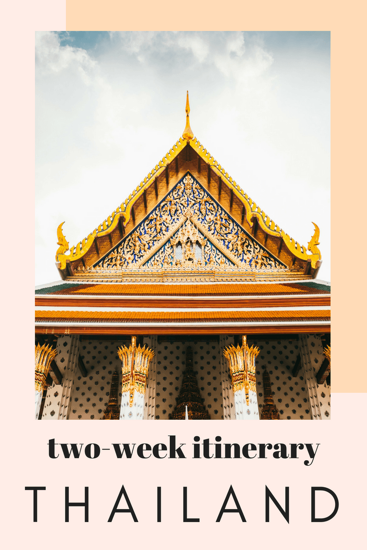 Planning a two-week itinerary for Thailand, and sharing all of our favorite places to visit, including a few hidden gems. This Thailand travel itinerary is meant for those who want to see the most of the country in 2 weeks. #Thailand #Bangkok #hiddengems