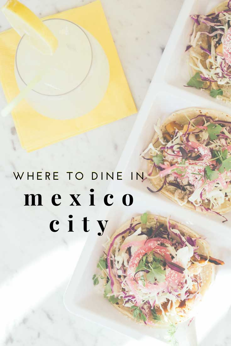 Where to Dine in Mexico City