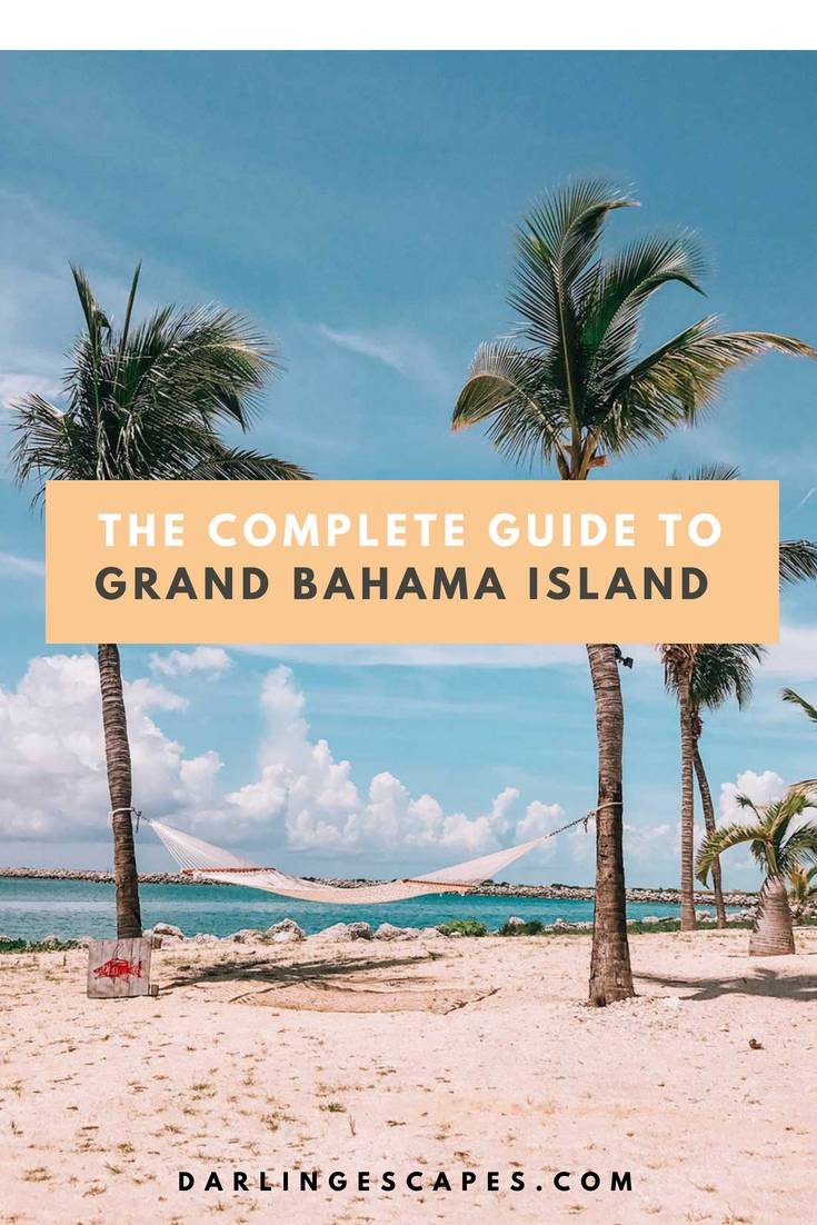 The complete guide to exploring Grand Bahama island, including things to do, see, and eat. We also share our favorite beaches and hidden gems.