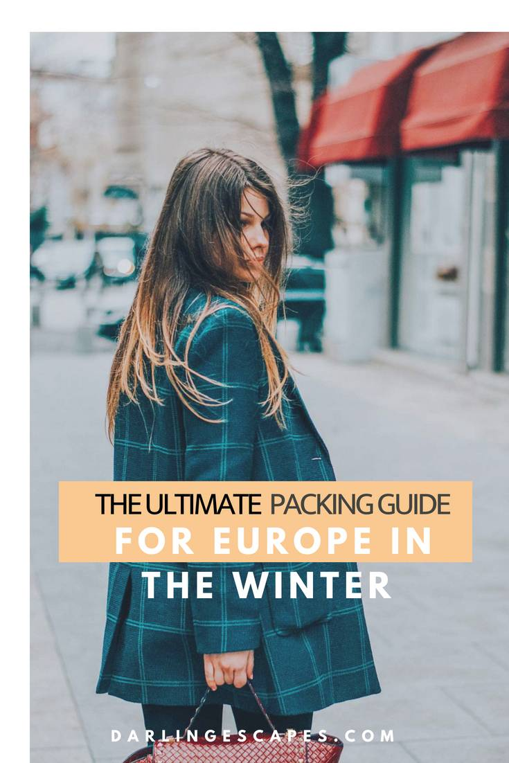 Going to Europe in the winter and not sure what to pack? We have you covered. This guide everything you need to pack for your fall and winter travels.