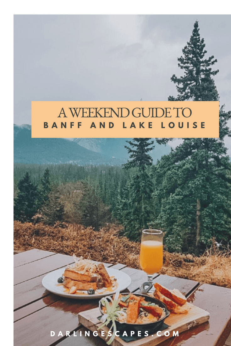 Looking for things to do in Banff? Or want to know what to do in Lake Louise? Perhaps ski resorts in Banff is on your list? This weekend guide gives you everything you need to know. #Banff #lakelouise