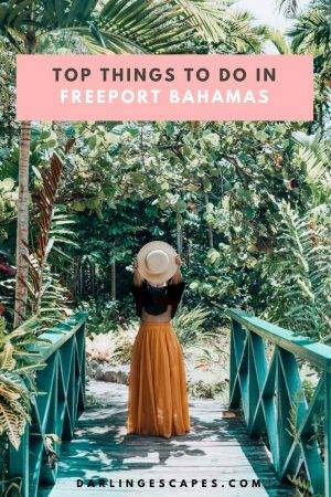 Heading to the Bahamas and looking for the best Freeport excursions? We have you covered with the top things to do in Freeport Bahamas. #Bahamas #Freeport #Thingstodo
