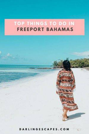 Heading to the Bahamas and looking for the best Freeport excursions? We have you covered with the top things to do in Freeport Bahamas including a visit Pelican point beach. #freeport #Bahamas #freeportexcursions