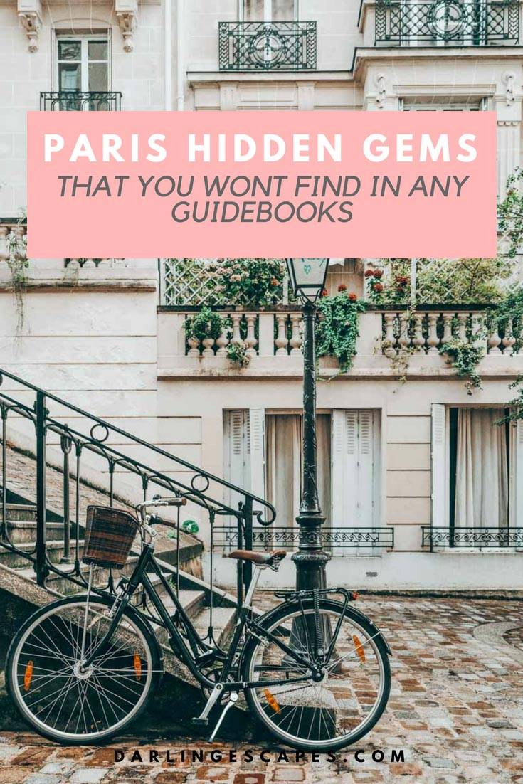 The ultimate list of all the hidden gems in Paris. Sharing our favorite hidden gems in Paris including something for the foodies! #Paris #Hiddengems #Paristhingstodo