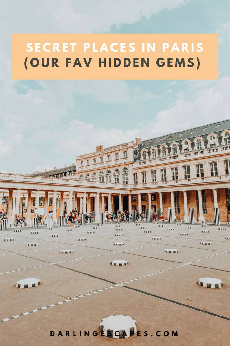 Paris is full of hidden gems. We've pulled together a list of our favorite secret spots in Paris to give you a different point of view. #Paris #hiddengems #Parishiddengems #Thingstosee