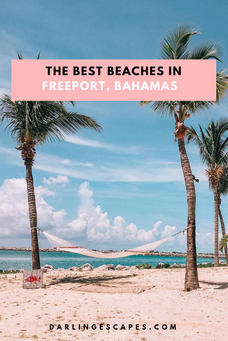 Find some of the best beaches in Freeport, Bahamas. The complete guide covers everything you need to know including the best beaches in Freeport. #Bahamas #freeport #Thingstodo