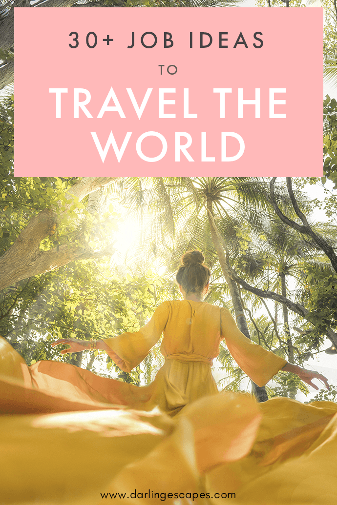 With the internet available at the tip of our fingers, finding jobs that allow you to travel around the world is easier than ever! Here's how to get paid to travel the world!