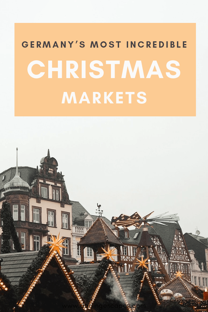 From Heidelberg to Münich, here are the top cities to visit in Germany in December is Christmas Markets are your jam!