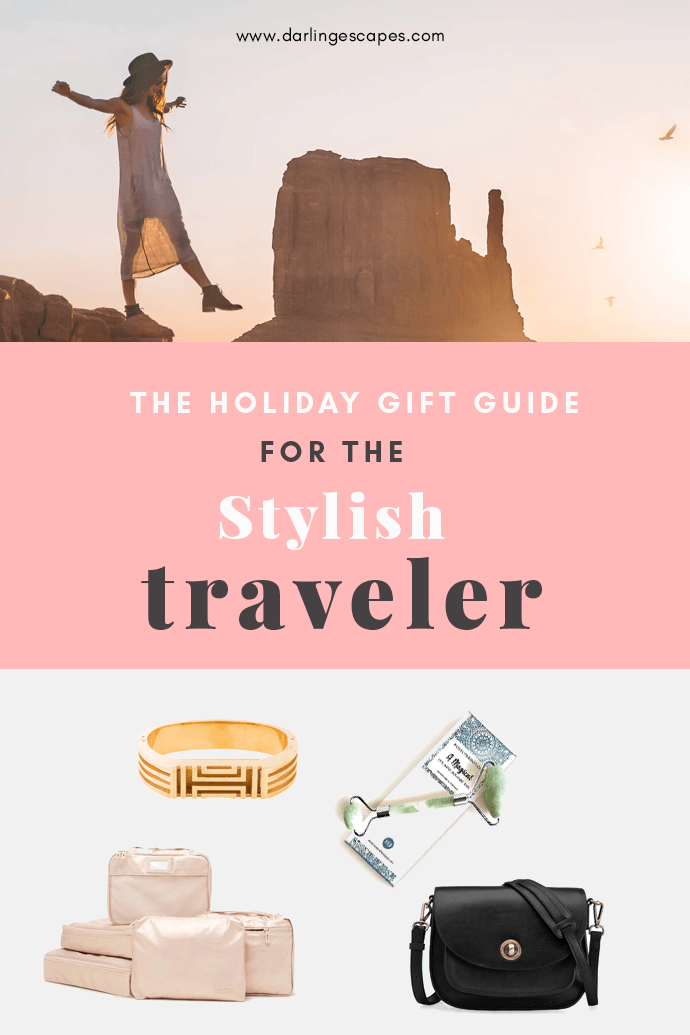 Wondering what to gift your friend who loves to travel? Here's our roundup of our favorite travel products and gift ideas for your loved one who loves to travel in style!