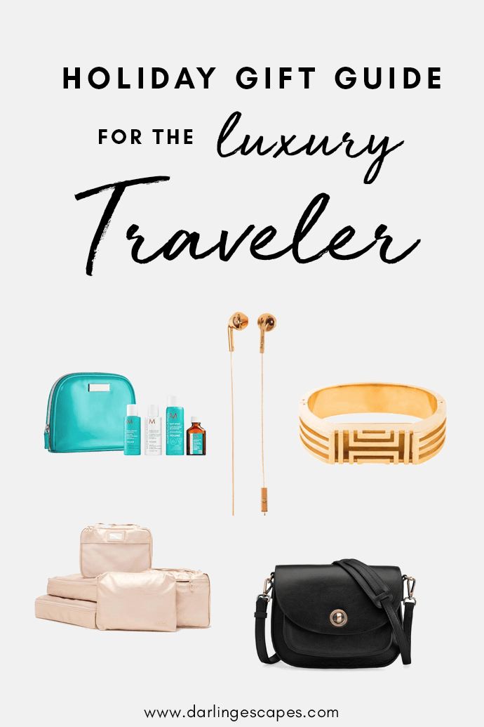 With the holiday season quickly approaching, you're probably wondering what to get your friend who loves to travel, so we've put together the ultimate gift guide for those who love to travel in style.