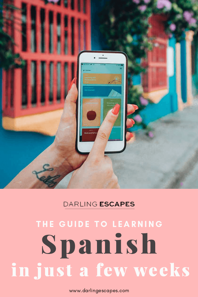 Learning Spanish online is super easy with this neat app we've found! Want to be prepared for your next trip to Spain or Latin America? You'll be able to become fluent in no time, all from the comfort of your phone!