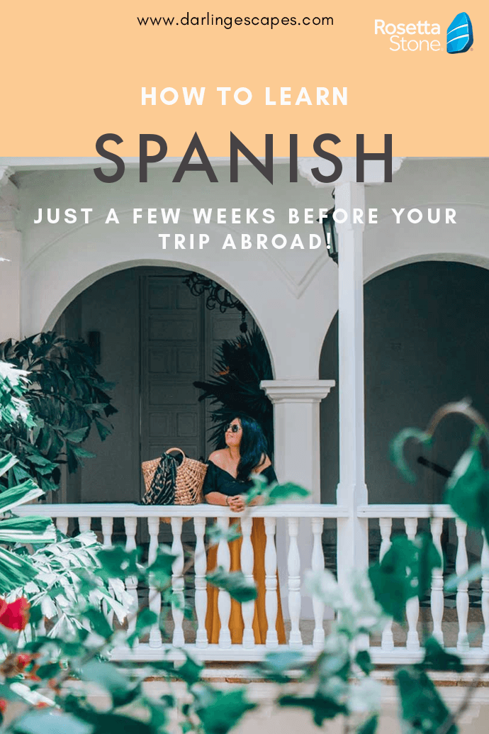 Looking to learn the basics of Spanish or become fully-fluent in the language for your next trip abroad? We've got the perfect tool for you that will have you speaking like a local in no time!