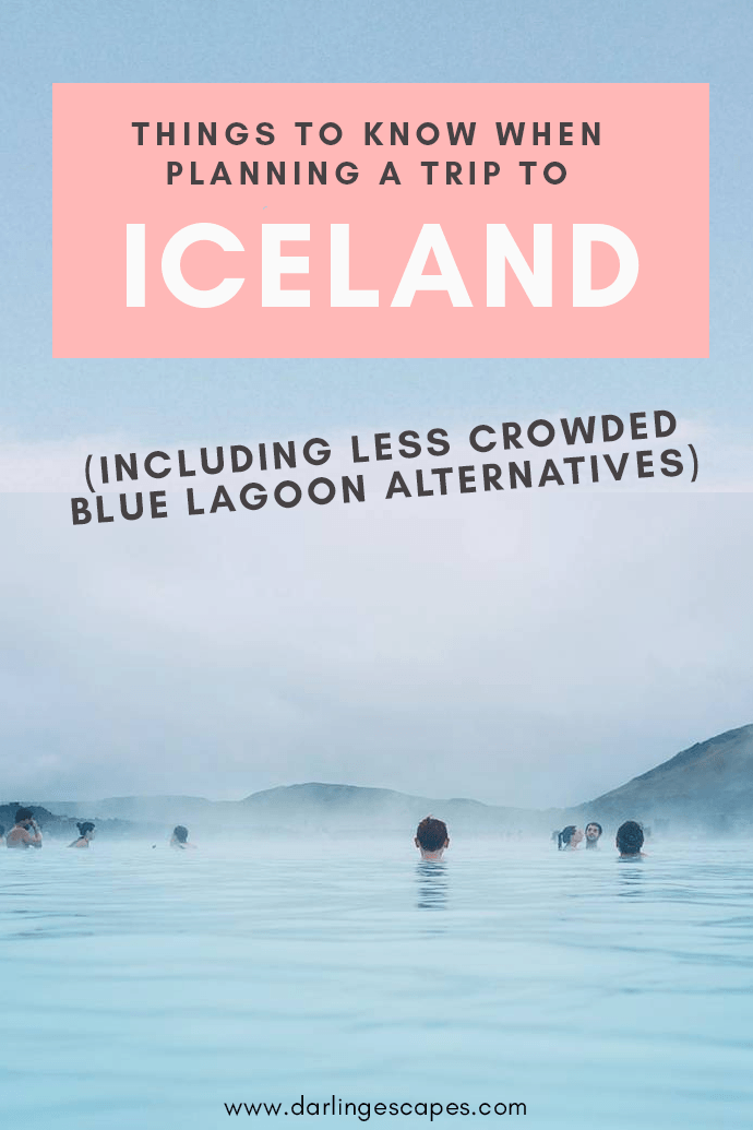 Looking for Blue Lagoon alternatives and a travel guide to Iceland? Here's everything you need to know before traveling to Iceland! #Iceland