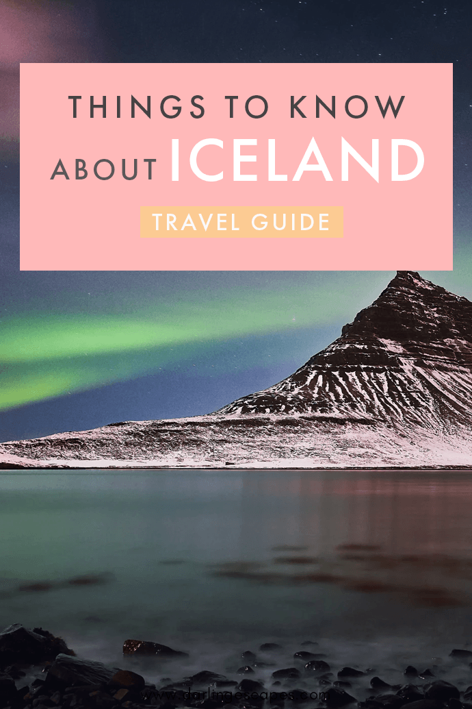 Traveling to Iceland soon? This gem of a country boasts some of the most incredible natural landscapes in the world and by far one of the best destinations in the world! Here are a few things to know before traveling to Iceland!