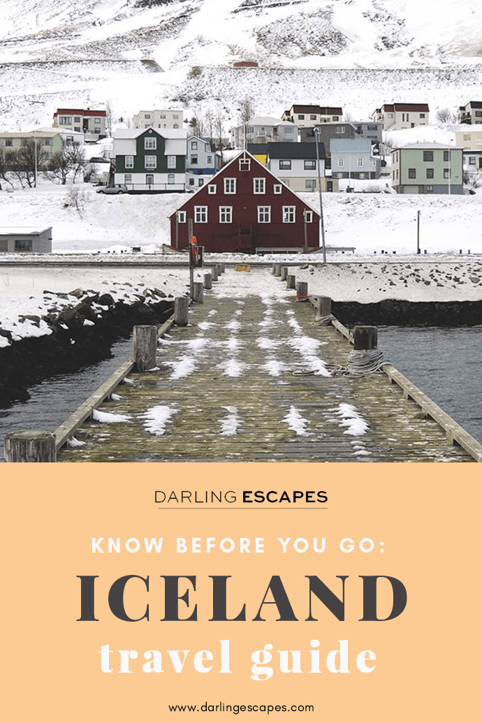 On this Iceland travel guide, we share tips on traveling to Iceland and the most important thing to know before hopping on that flight to Reykjavik! #Iceland!
