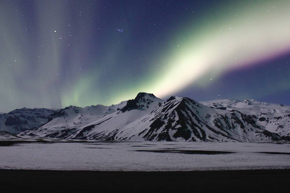 What it's like to experience seeing the Northern Lights in Iceland