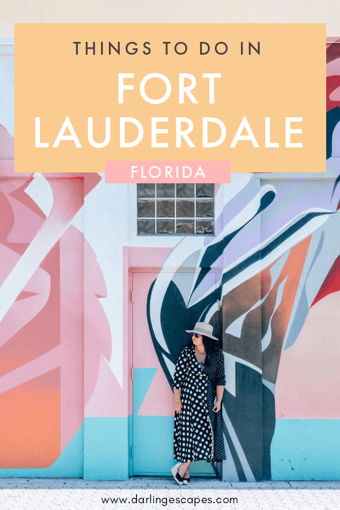 The perfect guide weekend showing you all the things to do, see, eat and where to stay to have the best experience in Fort Lauderdale, Florida. Finding things to do in Fort Lauderdale is easier than ever! #florida #Visitlauderdale #loveFL