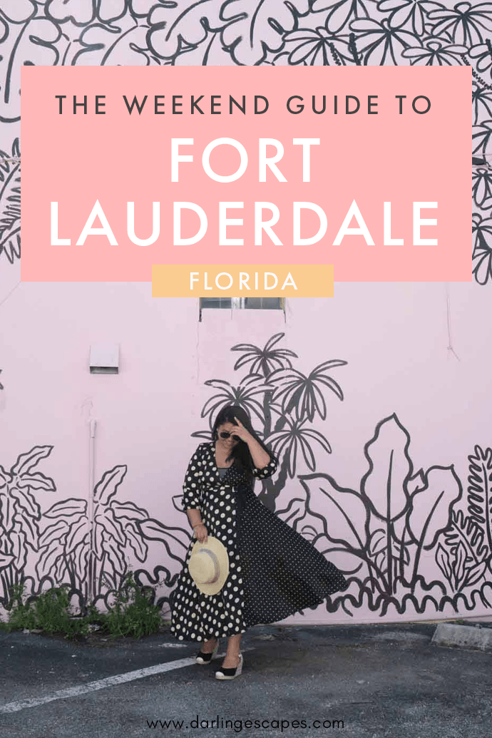 The ultimate weekend getaway guide to Fort Lauderdale in Florida! On this travel guide, we share the best things to do in Fort Lauderdale as well as our favorite restaurants and the best hotels in the city! #Lauderdale #FortLauderdale #Florida