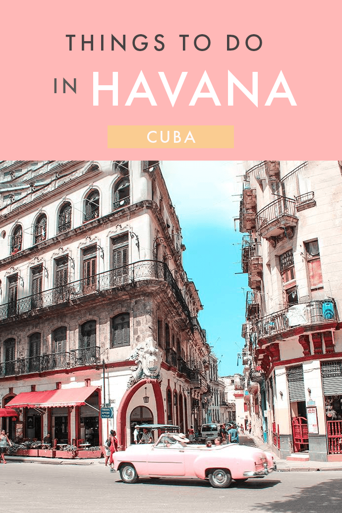 Walk around Vedado with a daiquiri; Cuba's capital is booming right now. Make sure you know where to go with these essential things to do in Havana.