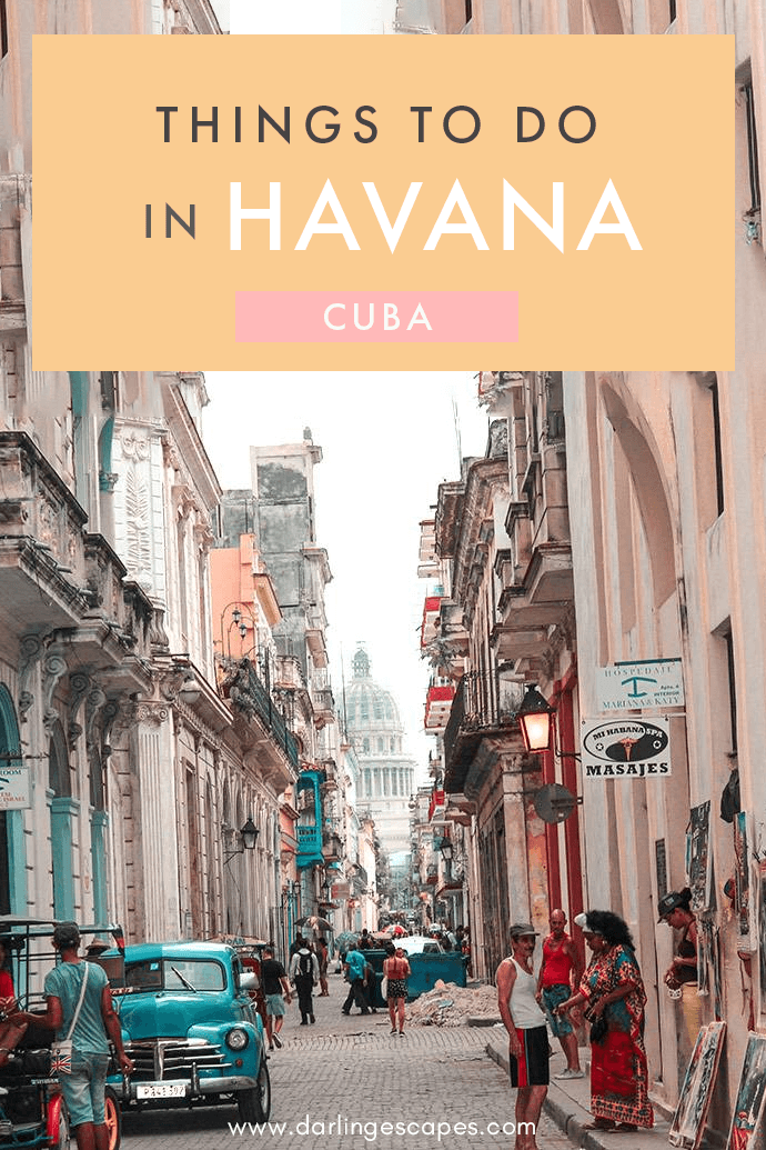 Havana has a soul of its own and offers and endless array of activities that makes visitors wish they had one more day to stay in order to see everything. We've done the hard work and put together a list of the best things to do in Havana for all budgets! #Havana #Cuba