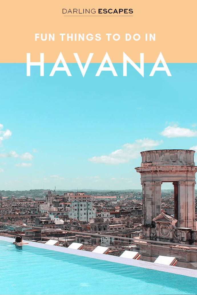 Havana is a city that brims with life and offers and endless amount of activities and excursions. We've narrowed down the options for you and put together a list of the best 10 things to do in Havana! #Havana #Cuba