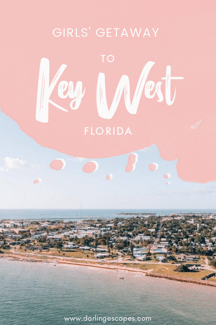 Looking for girls' getaway ideas? Key West is always a great choice, and we've put together the ultimate getaway and holiday guide to Key West with the best activities, things to do, restaurants, and hotels! #Florida #KeyWest