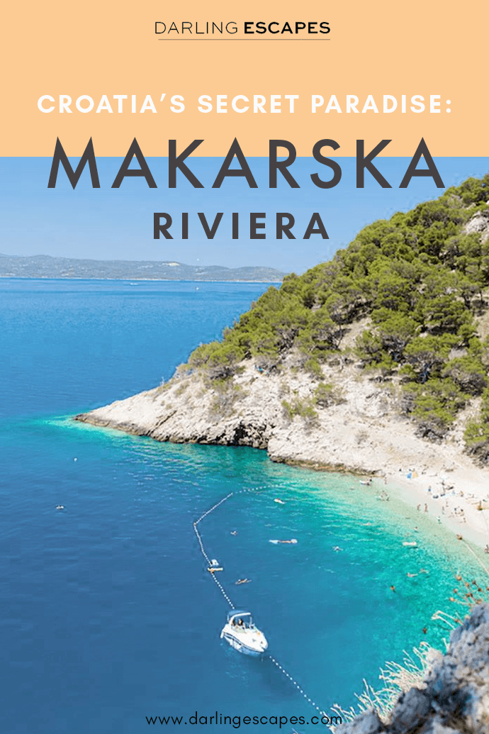 There are many popular beach destinations in Croatia, but if you want to discover hidden gems, you'll love the Makarska Riviera and here are all the reasons why! #Croatia