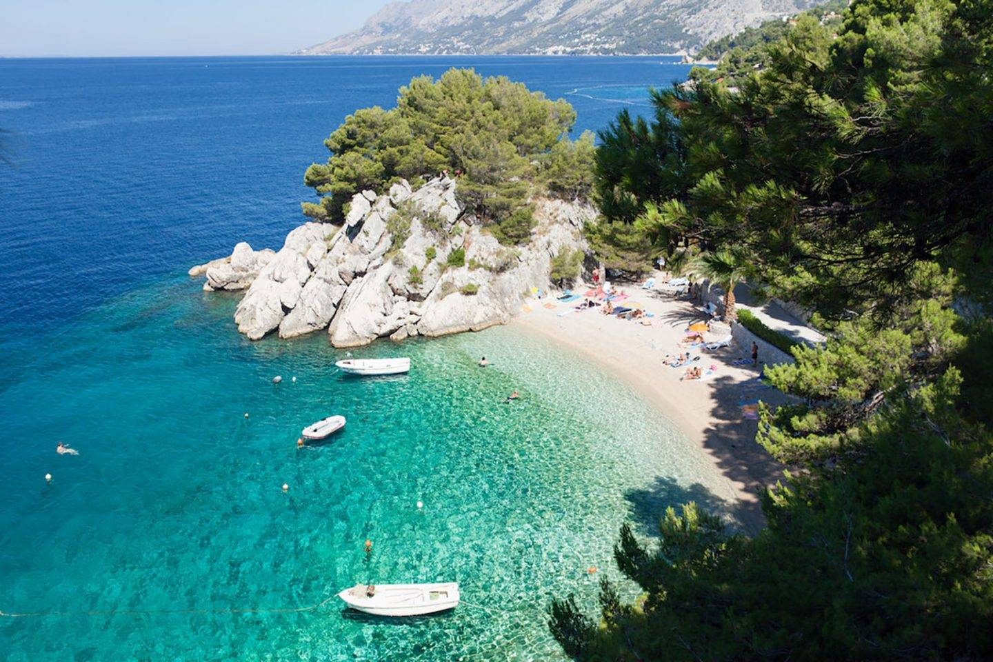 Podrace Bay, one of the most stunning beachesin Europe. Go early in the morning to claim your spot!