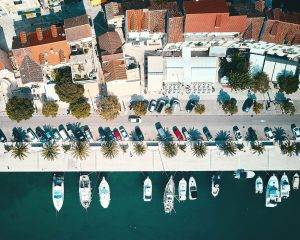One of the picturesque harbours in Makarska Riviera; those beauties on itself are reason to visit
